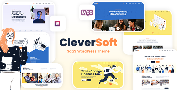 CleverSoft - SaaS WordPress Theme
