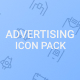 Advertising Icon Pack - GraphicRiver Item for Sale