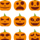 Halloween Pumpkin Expressions - GraphicRiver Item for Sale