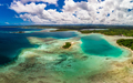 Drone view of small islands and lagoons, Efate Island, Vanuatu, near Port Vila - PhotoDune Item for Sale