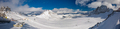 The snowy winter panorama of Dachstein Alps, Austria - PhotoDune Item for Sale
