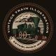 A Colorful Round Emblem with a Retro Train - GraphicRiver Item for Sale