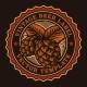 A Colorful Vintage Beer Emblem - GraphicRiver Item for Sale