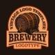 A Vintage Emblem for a Beer Theme - GraphicRiver Item for Sale
