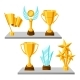 Awards and Trophy on Shelves - GraphicRiver Item for Sale
