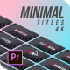 Titles Minimal Corporate | Premiere Pro - VideoHive Item for Sale
