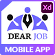 Dearjob - Adobe XD mobile application - ThemeForest Item for Sale