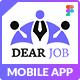 Dearjob - Figma Mobile Application - ThemeForest Item for Sale