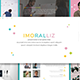 Imoralliz - Presentation Template - GraphicRiver Item for Sale