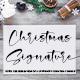 Christmas Signature - GraphicRiver Item for Sale