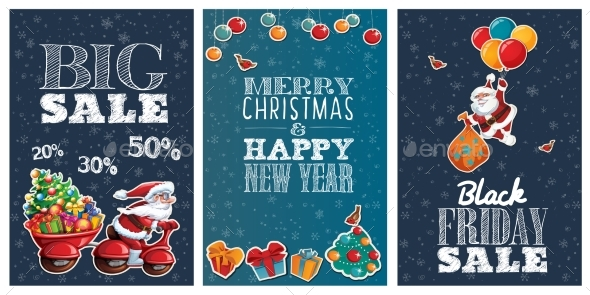 Holiday Sale Posters