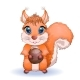 Cartoon Squirrel - GraphicRiver Item for Sale