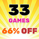 Bundle #5 33 Games   HTML5   Construct 2   Construct 3 - CodeCanyon Item for Sale