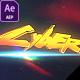Cinematic Glitch Logo - VideoHive Item for Sale