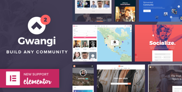 Gwangi - PRO Multi-Purpose Membership, Social Network & BuddyPress Community Theme
