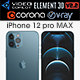 Apple iPhone 12 pro MAX - 3DOcean Item for Sale