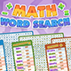 Math Word Search HTML5 Game - Construct 3 Source-code - CodeCanyon Item for Sale