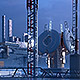 Futuristic City Pack 4. Industrial Skylines - GraphicRiver Item for Sale