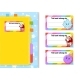 Book Label Stickers for Kids. The Rectangular - GraphicRiver Item for Sale