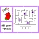 ABC Maze for Kids. Rectangle Labyrinth. Christmas - GraphicRiver Item for Sale
