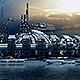 Futuristic City Pack 5. Marina Skyline - GraphicRiver Item for Sale