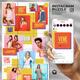 Vene - Social Media Instagram Puzzle Feed - GraphicRiver Item for Sale