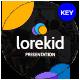 Lorekid Educational Keynote Template - GraphicRiver Item for Sale