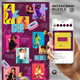 More - Social Media Instagram Puzzle Feed - GraphicRiver Item for Sale
