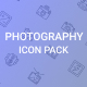 Photography icon Pack - GraphicRiver Item for Sale