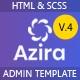 Azira -  Admin Dashboard HTML Template - ThemeForest Item for Sale