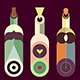 Wine Bottles Collection (2 options) - GraphicRiver Item for Sale