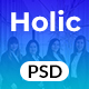 Holic - Lead Generation PSD Landing Page Template - ThemeForest Item for Sale