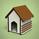 Dog House - 3DOcean Item for Sale