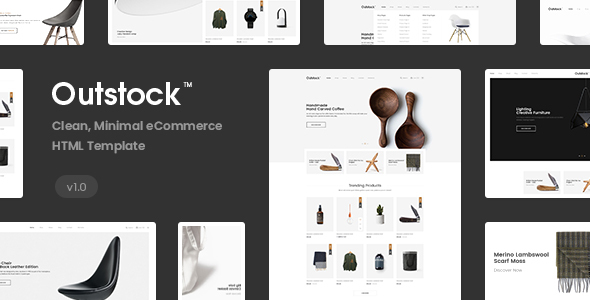 Outstock - Clean Minimal eCommerce HTML5 Template