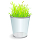Trash can grass  - GraphicRiver Item for Sale