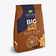 Coffee or Flour Bag Mockup - GraphicRiver Item for Sale