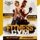 Fitness Gym Social Media Pack - GraphicRiver Item for Sale