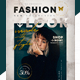 Fashion Look Social Media Pack + Flyer Template - GraphicRiver Item for Sale