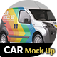 Photorealistic Panelvan Mock Up - 001 - GraphicRiver Item for Sale
