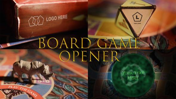 Adventure Board Game Opener