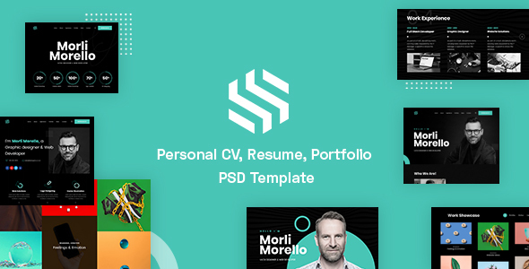 Download Sonx – Personal CV, Resume & Portfolio PSD Template Nulled