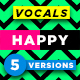 Happy Female Vocals