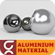 Aluminium VRay Material - 3DOcean Item for Sale