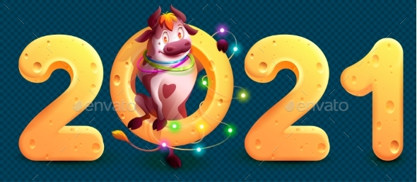 2021 Is Year of Bull in Chinese Calendar