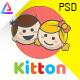 Kitton - Kids, Kindergarten And Pre-School PSD Template - ThemeForest Item for Sale