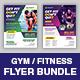Fitness GYM Flyer Bundle - GraphicRiver Item for Sale