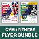 GYM Fitness Flyer Bundle - GraphicRiver Item for Sale