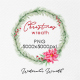Christmas Wreath PNG, Watercolor Winter Single Wreath - GraphicRiver Item for Sale