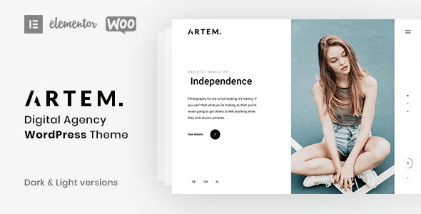 Artem - Digital Agency Theme