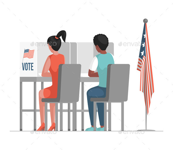 Election Day in the United States of America